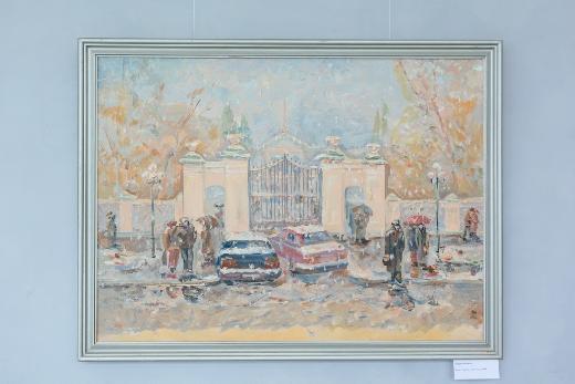 Палитра впечатлений: в НБ открыта выставка картин Татьяны Завьяловой