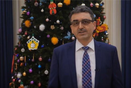 Поздравление ректора ТГУ с новым, 2020 годом