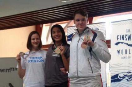 Подводница СКАТ ТГУ завоевала две медали на этапе Кубка мира