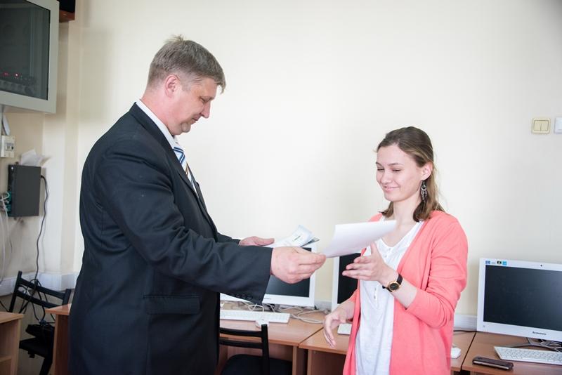 Награждение студентов ФСФ