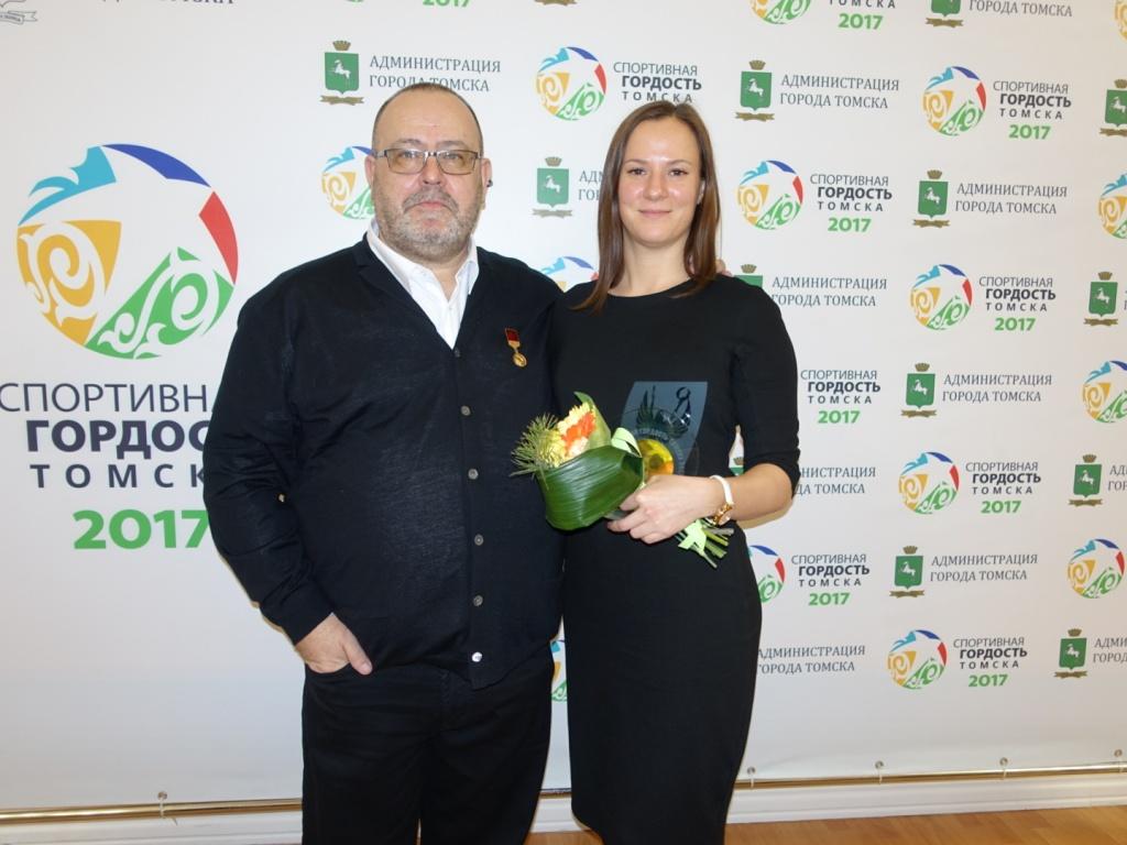 Петр Тимченко и Анна Бер