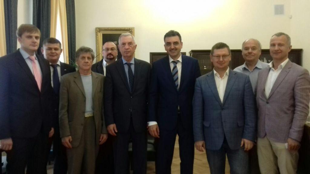 Ректор ТГУ и представители ВСК