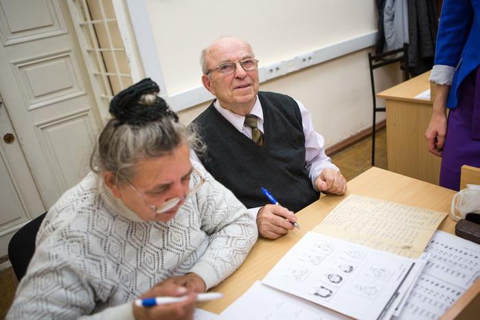 Участник программы обучения английскому языку для пожилых людей