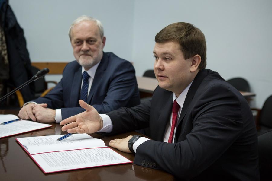 Виктор Демин и Юрий Боровиков