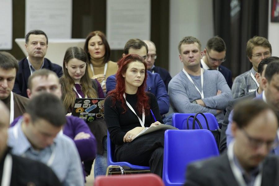 Ксения Завьялова на открытии BootCamp