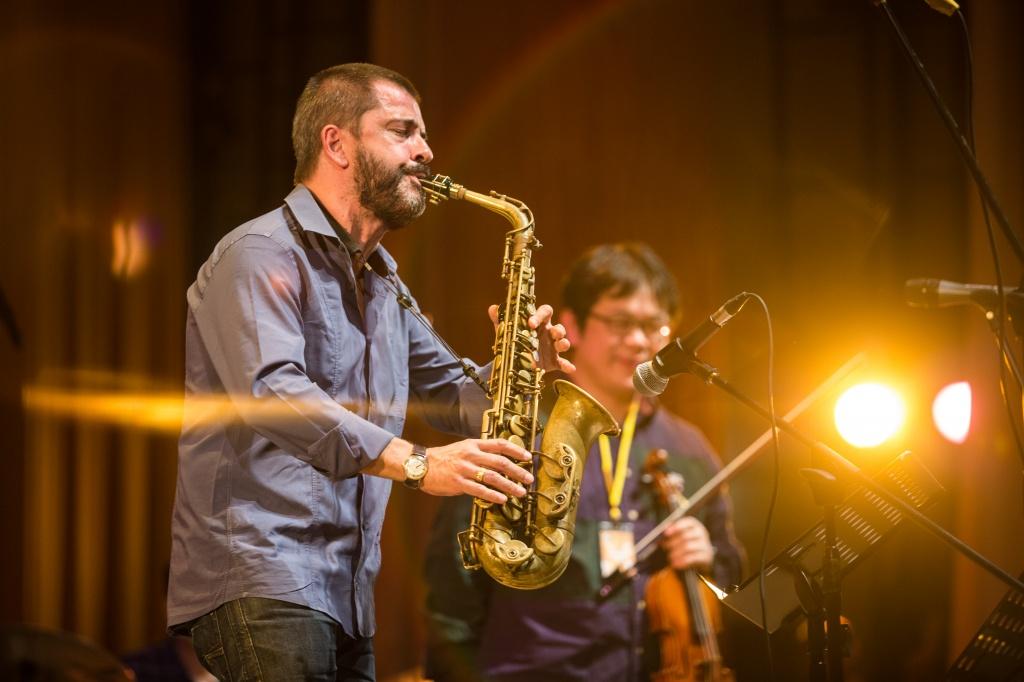 Росарио Джулиани на симпозиуме джаза в ТГУ
