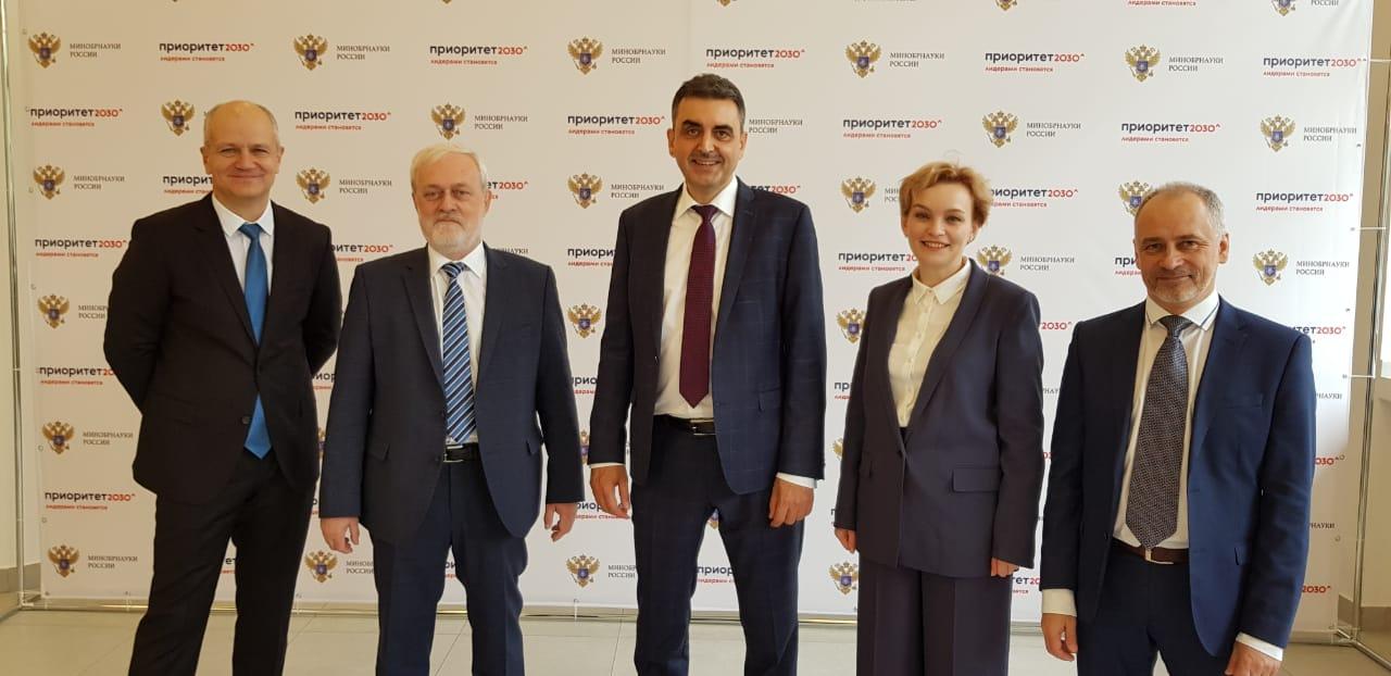 Команда ТГУ на защите заявки на программу Приоритет 2030