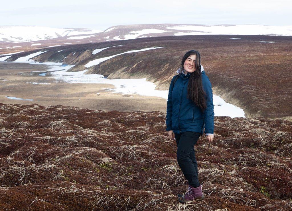 Географ ТГУ сделала первую в истории карту ландшафта острова Медный