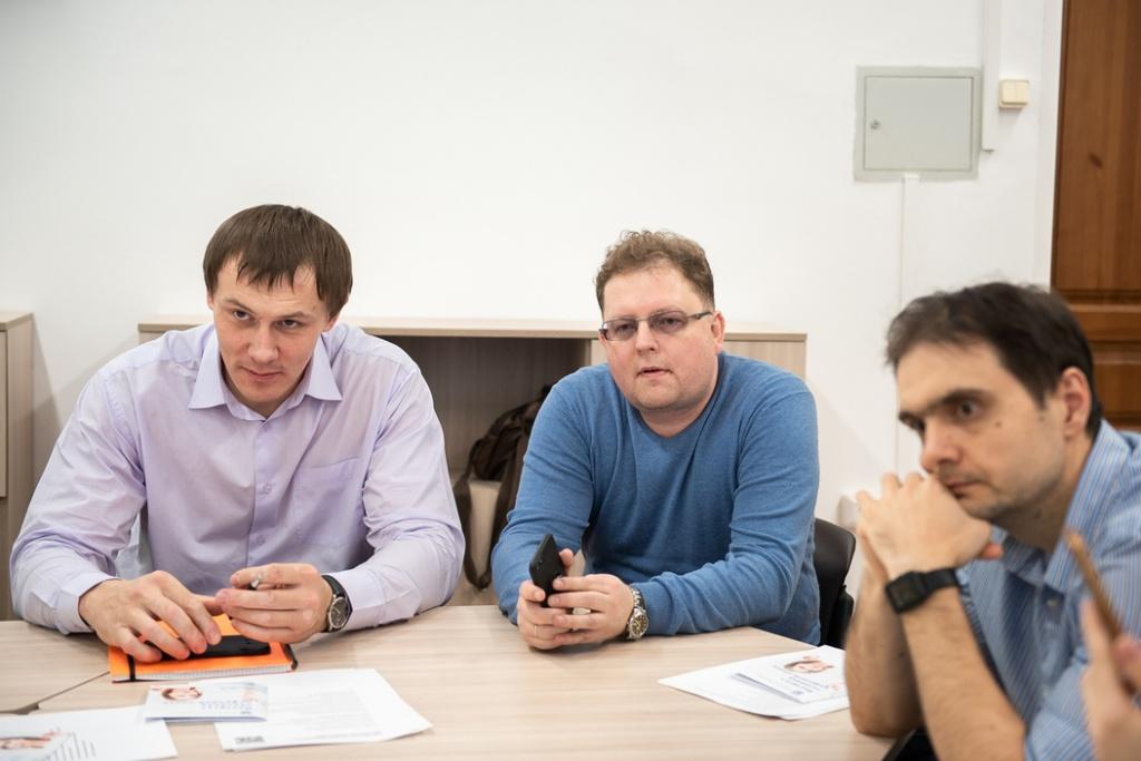 Во встрече приняли участие представители компаний-партнеров САЕ «Институт человека цифровой эпохи».