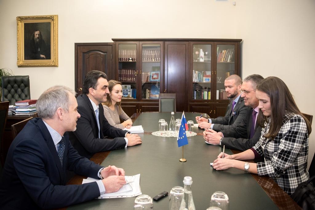 Встреча с послом ЕС