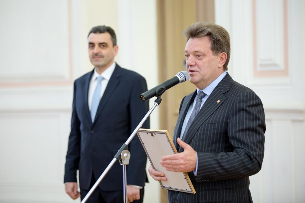 Иван Кляйн и Эдуард Галажинский