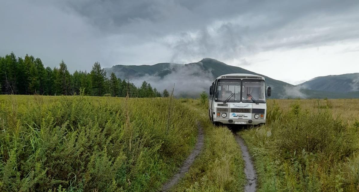 Автобус исследовательской группы ТГУ