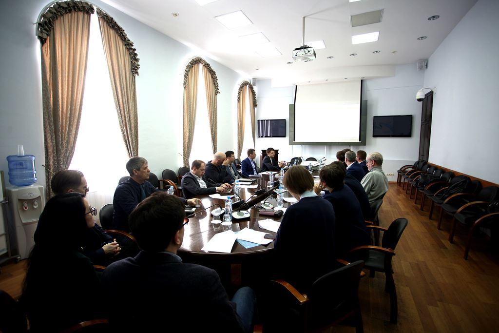 """Встреча с представителями НТЦ """"Орион"""""""